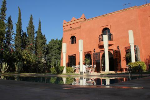 Maison à louer Marocain épuré Marrakech Palmeraie