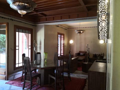 Location maison Marocain épuré Marrakech Palmeraie
