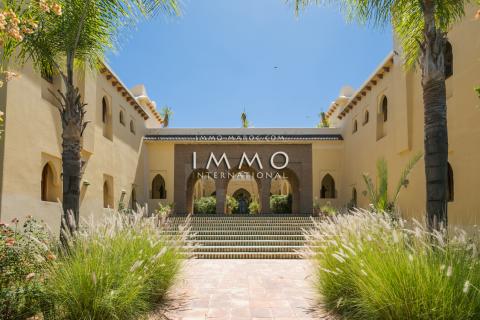 villa vente Maison d'hôtes Marrakech Extérieur Route Ourika