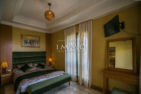 Achat appartement Marocain épuré Marrakech Palmeraie