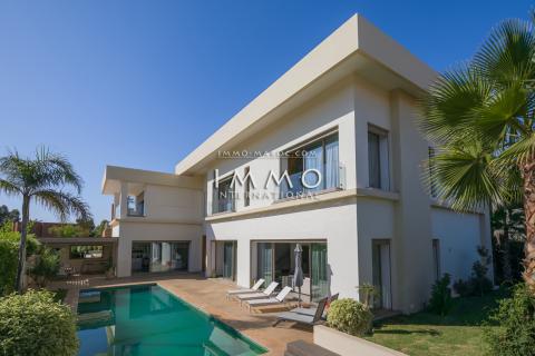 Achat villa Moderne Marrakech Golfs Amelkis
