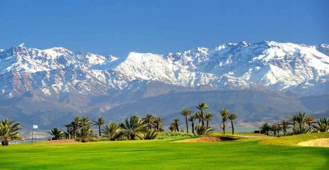Vente terrain Terrain villa Marrakech Golfs Amelkis