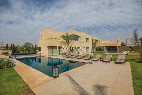 villa achat Moderne prestige a vendre Marrakech Golfs Amelkis