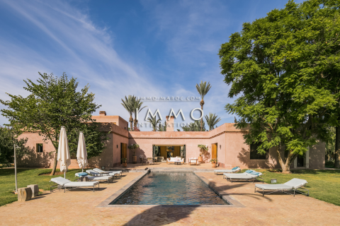 villa vente Moderne luxe Marrakech Palmeraie Circuit Palmeraie
