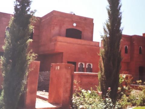 Maison à vendre Marocain épuré Marrakech Palmeraie Bab Atlas Extérieur Route Fes