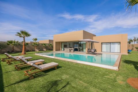 Maison à vendre Contemporain Marrakech Extérieur Ecole américaine Route Ouarzazate