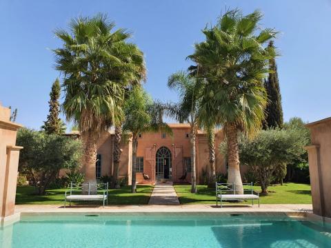 Maison à vendre Marocain épuré Marrakech Extérieur Route Ouarzazate