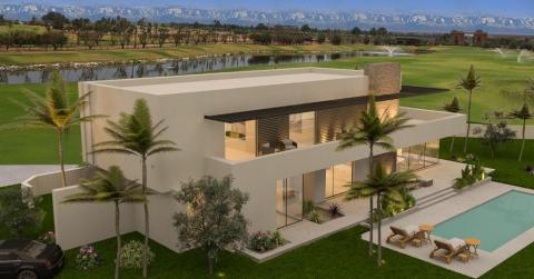 villa vente Contemporain immobilier luxe à vendre marrakech Marrakech Golfs Amelkis