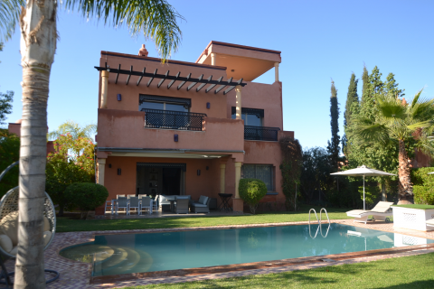 acheter maison Moderne Marrakech Palmeraie Bab Atlas Extérieur