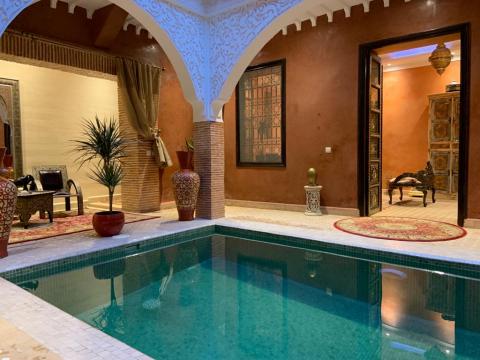 Vente riad garage Marrakech