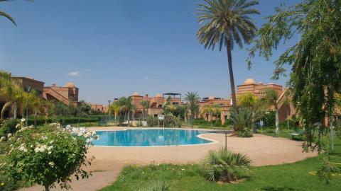 Vente villa Marocain épuré Marrakech Golfs Autres golfs Extérieur Route Fes