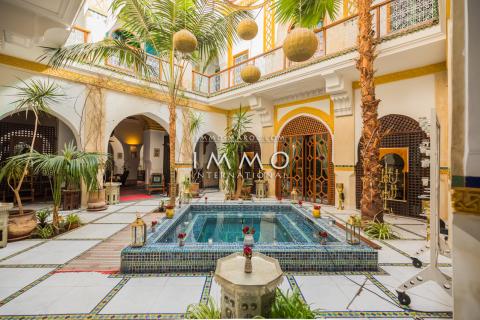 riad vente prestige a vendre Maison d'hôtes Marrakech