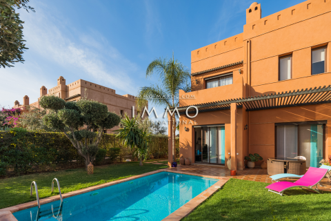 villa vente Moderne Marrakech Extérieur Route Ourika