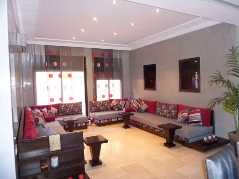 villa achat Contemporain Marrakech Centre ville Route Casablanca