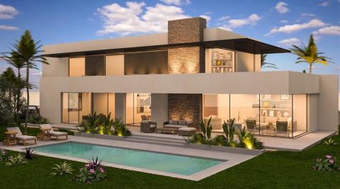 villa achat Contemporain luxueuses Marrakech Golfs Amelkis