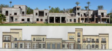 Villa à vendre Marocain épuré haut de gamme Marrakech Palmeraie Circuit Palmeraie