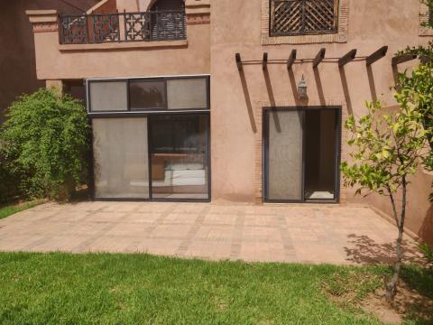 Vente appartement Marocain épuré Marrakech Extérieur Route Fes