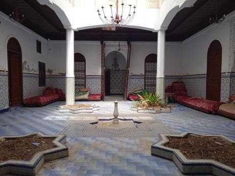 ryad Marocain épuré Marrakech Place Jamaa El Fna Kenaria