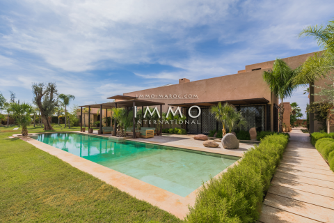 Achat villa Contemporain luxueuses Marrakech Palmeraie Bab Atlas