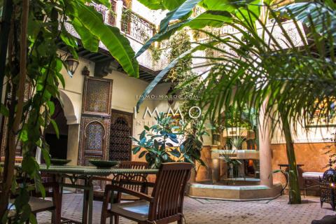 riad vente Maison d'hôtes Marrakech moins de 10 minutes de la place