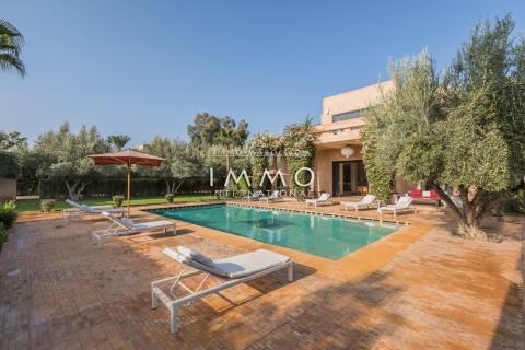 Vente maison Contemporain Marrakech Extérieur Route Ourika