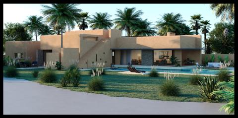 Maison à vendre Contemporain Marrakech Extérieur Route Amizmiz