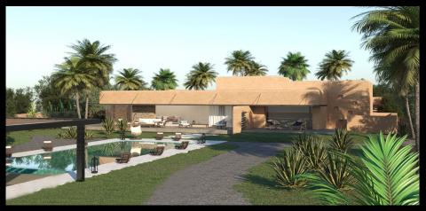 Vente villa Contemporain Marrakech Extérieur Route Amizmiz
