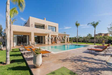 Maison à vendre luxe Marrakech Extérieur Route Ouarzazate