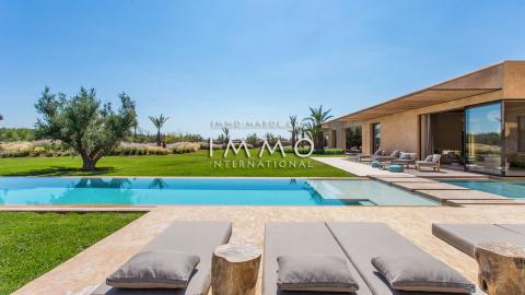 villa vente Moderne de prestige Marrakech Palmeraie Bab Atlas
