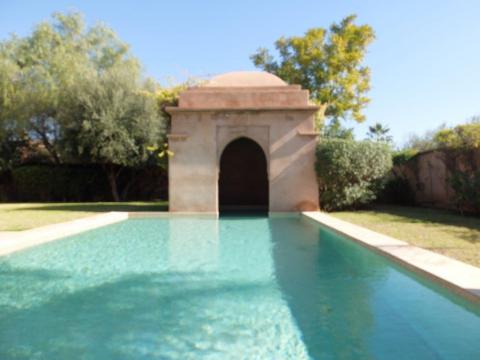 Vente maison Marocain épuré Marrakech Extérieur