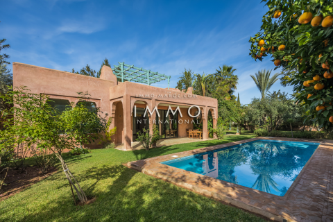 Vente villa Contemporain Marrakech Centre ville Agdal - Mohamed 6