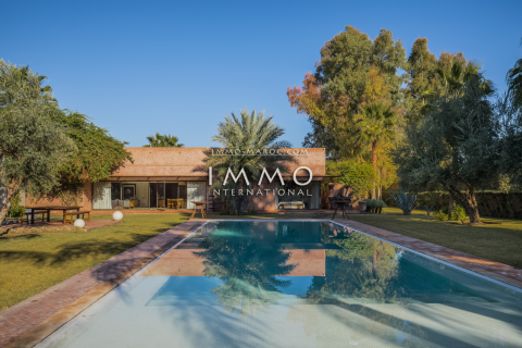 Achat villa Moderne propriete luxe marrakech à vendre Marrakech Extérieur Route Ouarzazate