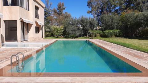 Maison à vendre Marocain épuré Marrakech Extérieur Ecole américaine Route Ouarzazate