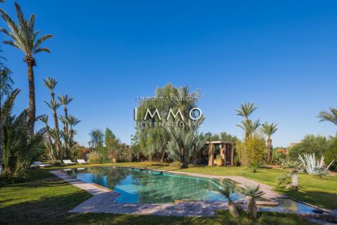villa achat Contemporain de prestige Marrakech Extérieur Route Amizmiz