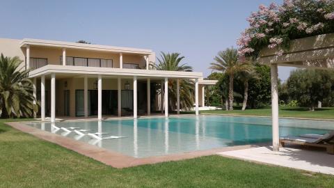 villa vente Moderne de prestige Marrakech Extérieur Route Ourika