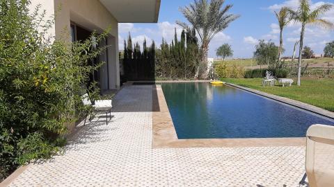 villa vente Marocain épuré Marrakech Golfs GOLF ARGANA
