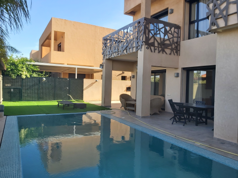 Location maison Moderne Marrakech Golfs