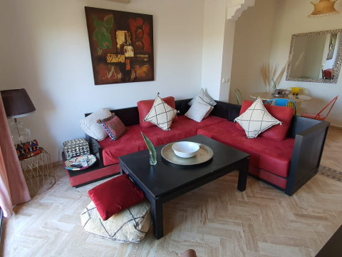 Location appartement Contemporain Marrakech Extérieur Route Fes