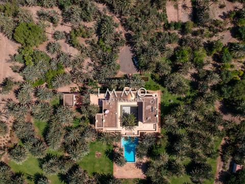 villa vente Marocain épuré immobilier de luxe marrakech Marrakech Palmeraie Circuit Palmeraie