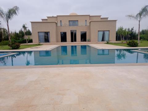 Villa à louer Moderne Marrakech Extérieur Route Ouarzazate