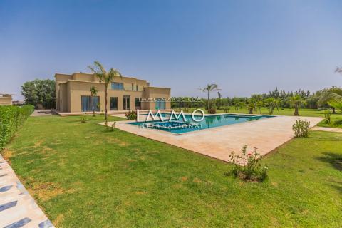 Villa à louer Contemporain Marrakech Extérieur Route Ouarzazate